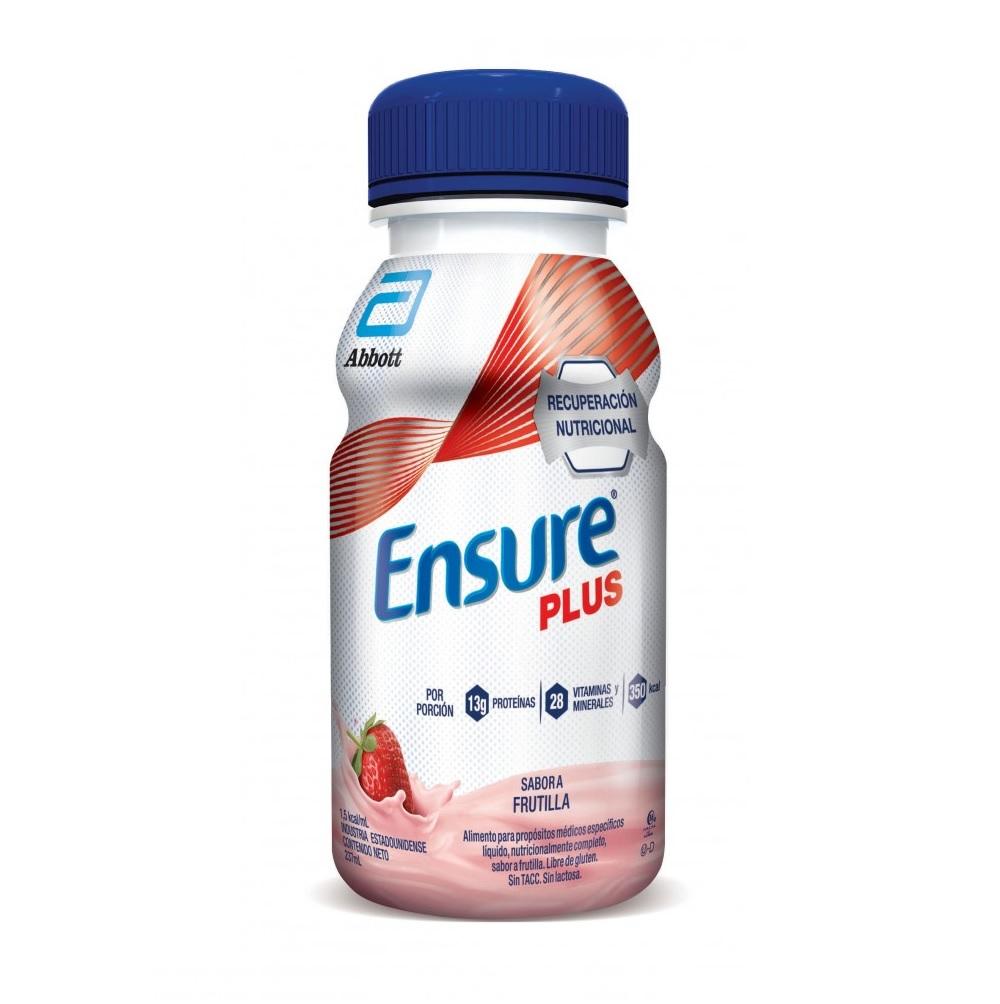 ENSURE PLUS DRINK FRUTILLA X 237 ML