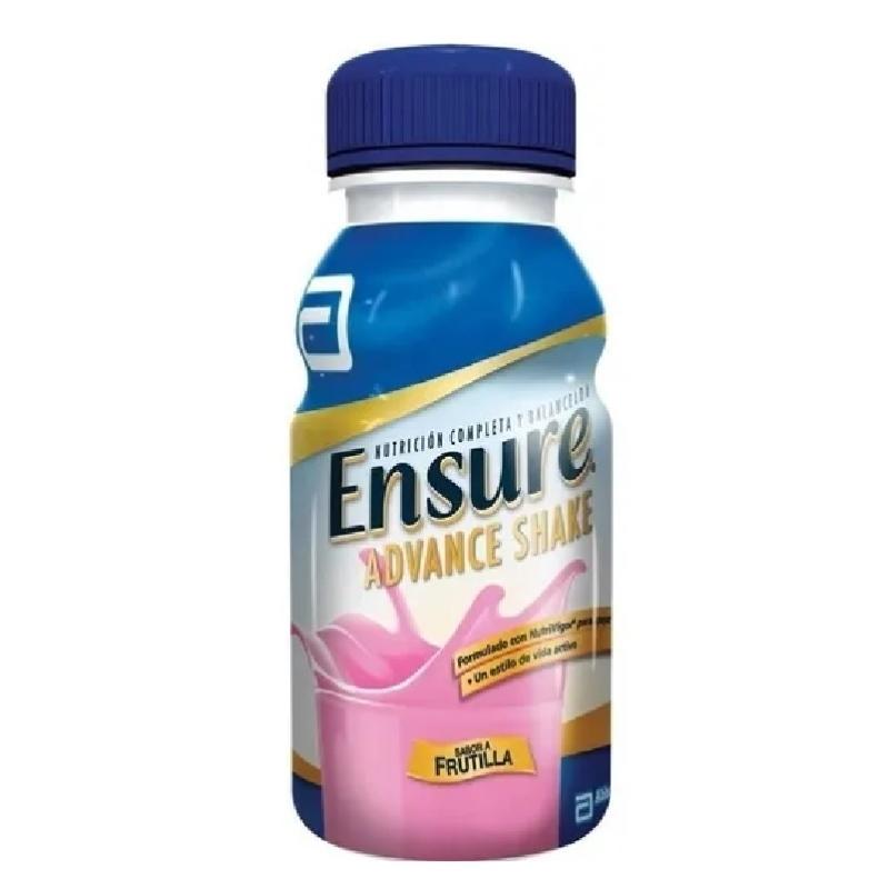 ENSURE ADVANCE SHAKE FRUTILLA X 237 ml