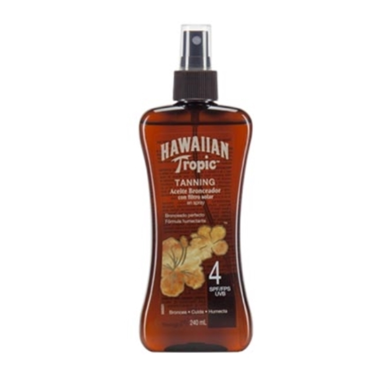 HAWAIIAN TANNING FPS 4 X 240 ml