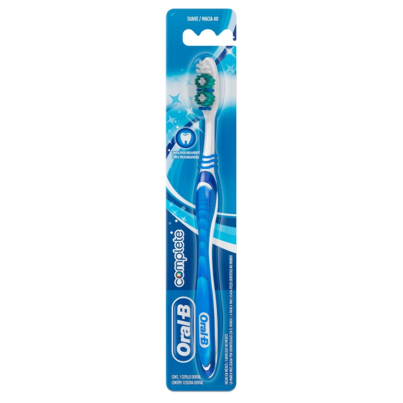 ORAL B CEPILLO COMPLETE NORMAL 40 MED X1