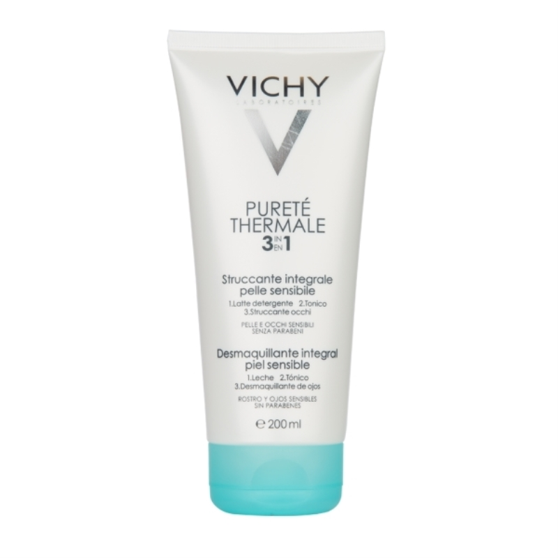 VICHY PURETE THERMAL DESMAQUILLANTE INTEGRAL 3 EN 1 X 200 ml