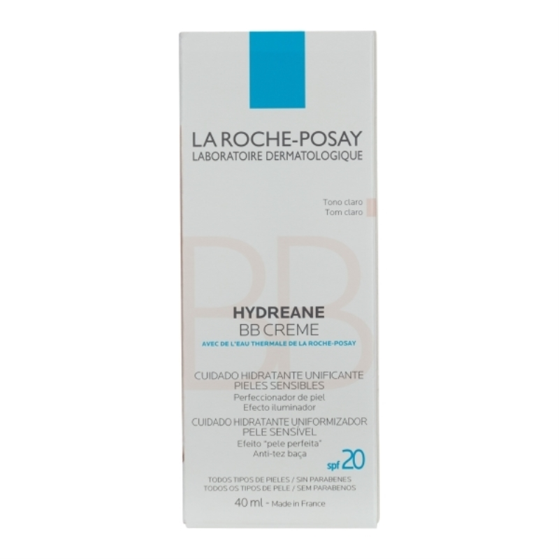 LA ROCHE POSAY HYDREANE BB CREAM LIGHT ROSE X 40  ml