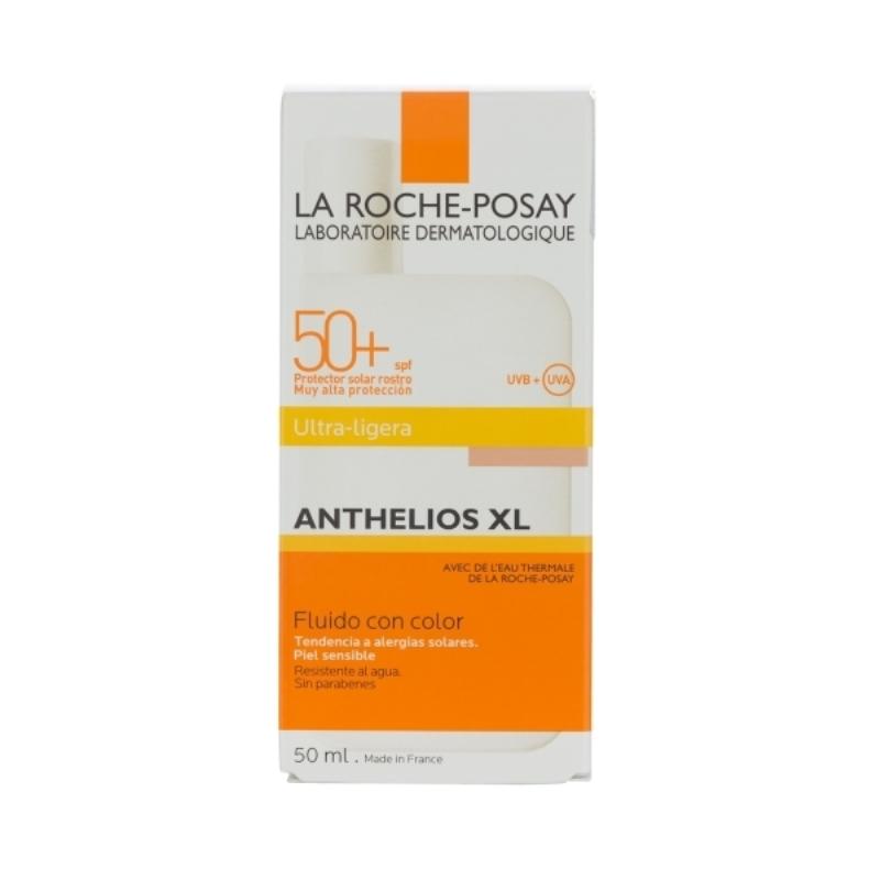 LA ROCHE POSAY ANTHELIOS XL 50+ FLUIDO CON COLOR FPS 50+ X 50 ml