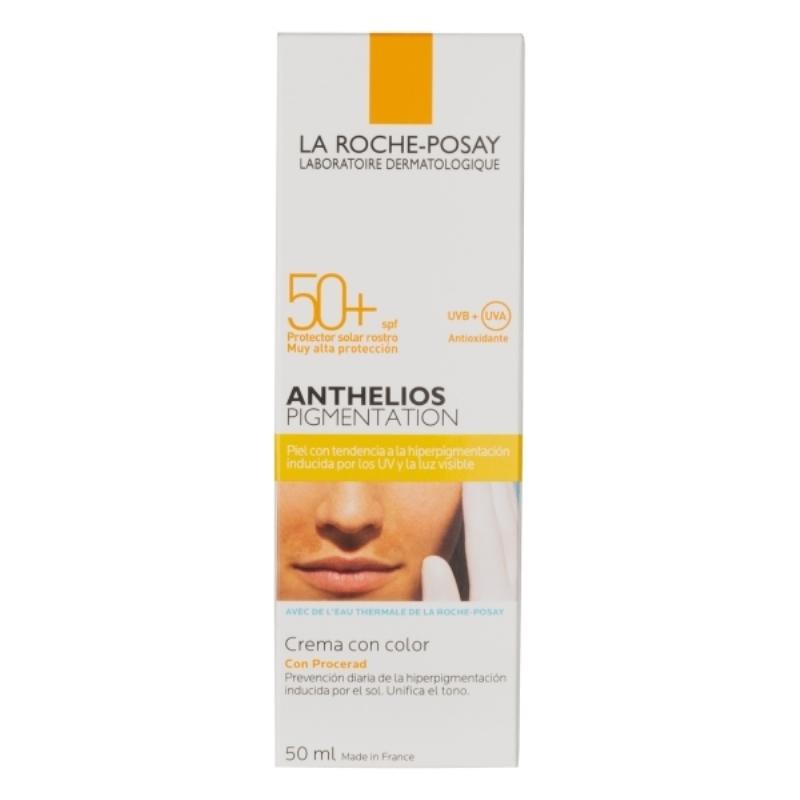 LA ROCHE POSAY ANTHELIOS ANTI-PIGMENTACIÓN CON COLOR FPS 50+ X 50 ml