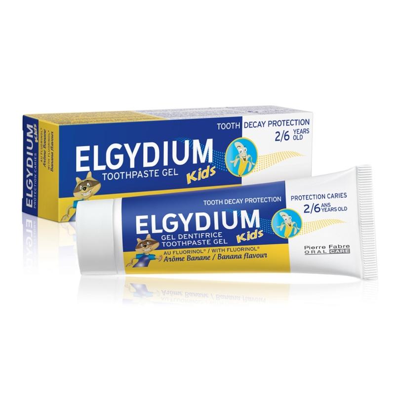 ELGYDIUM KIDS BANANA (2-6 AÑOS) CREMA X 50 ML