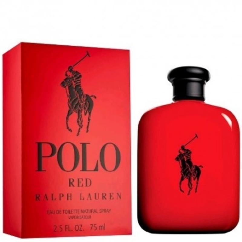 RALPH LAUREN POLO RED EAU DE TOILETTE X 75 ml