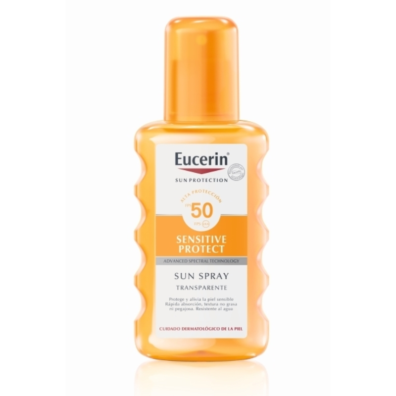 EUCERIN SPRAY TRANSPARENTE FPS 50 X 200 ml