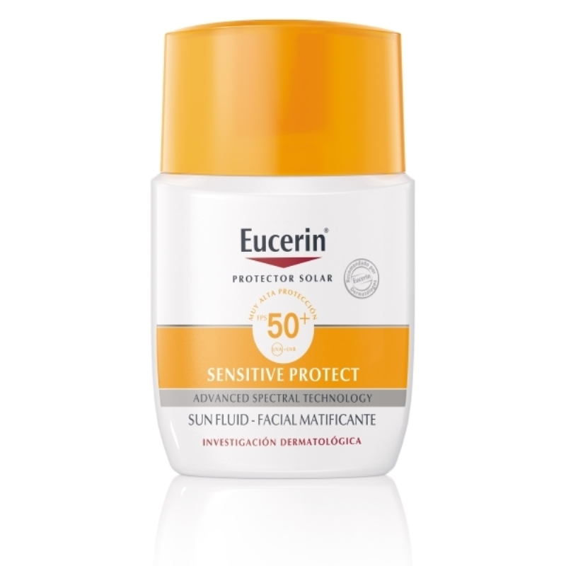 EUCERIN FLUIDO MATIFICANTE FPS 50 X 50 ml