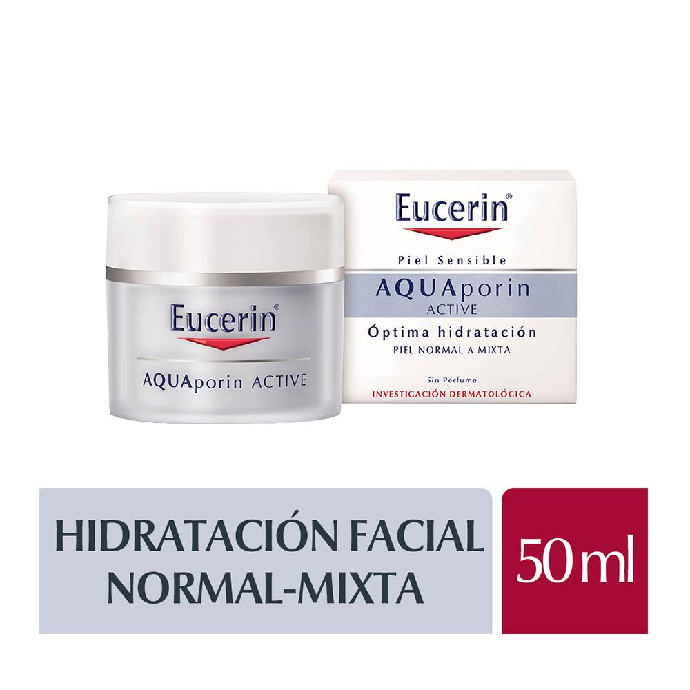 EUCERIN AQUAPORIN CREMA HIDRATANTE PARA PIELES NORMALES A MIXTAS X 50 ml