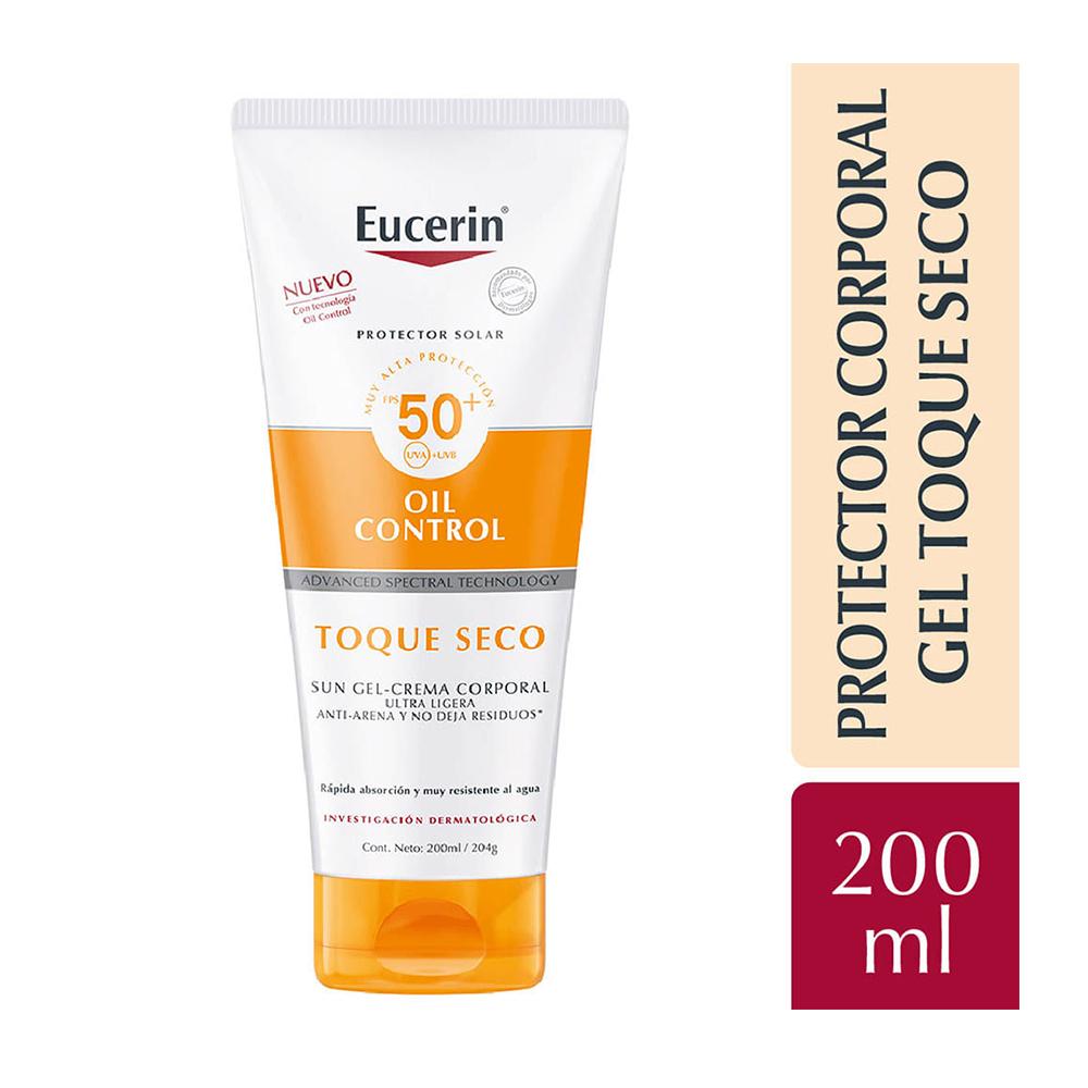 EUCERIN SOLAR TOQUE SECO CORPORAL FSP 50+ X200