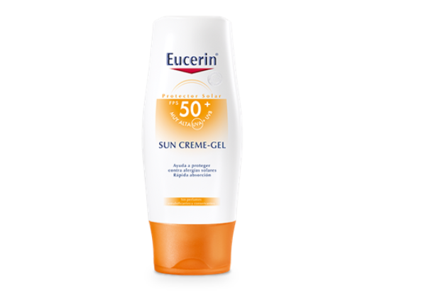 EUCERIN GEL FPS 50 X 150 ml