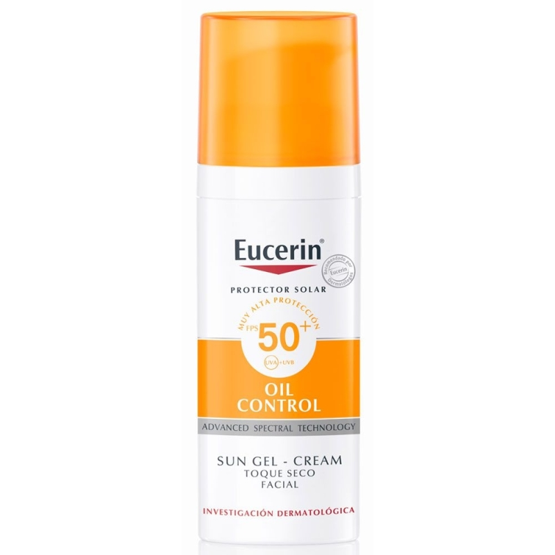 EUCERIN GEL TOQUE SECO FPS 50 X 50 ml