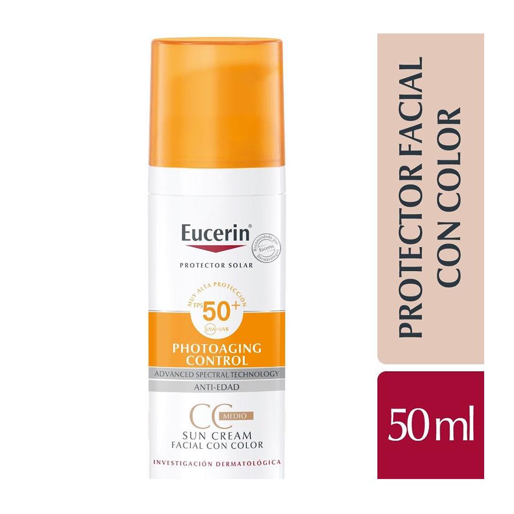 EUCERIN SUN CC CREAM FPS 50+ X 50 ml