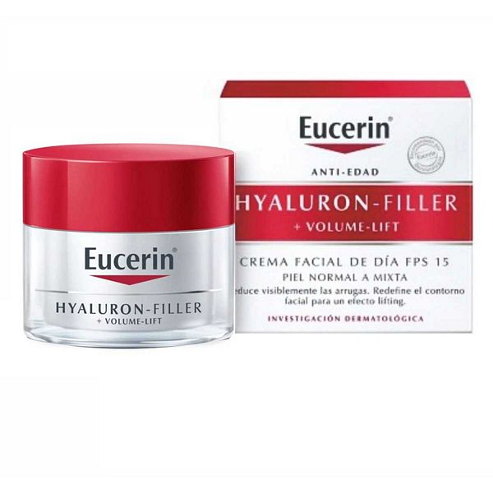 EUCERIN HYALLURON FILLER + VOLUME LIFT DÍA PIEL NORMAL A MIXTA X 50 ml