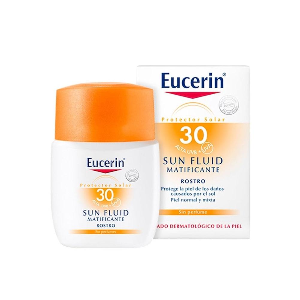 EUCERIN EUCERIN SUN FLUIDO MATIFICANTE FACIAL FPS 30