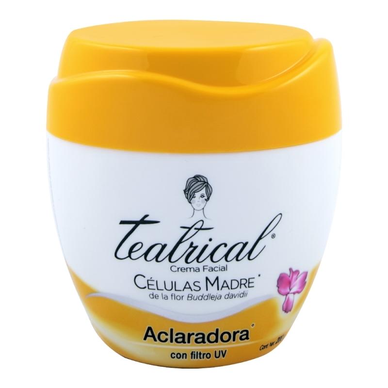 TEATRICAL  CELULAS MADRE ACLARADORA X 200 GR