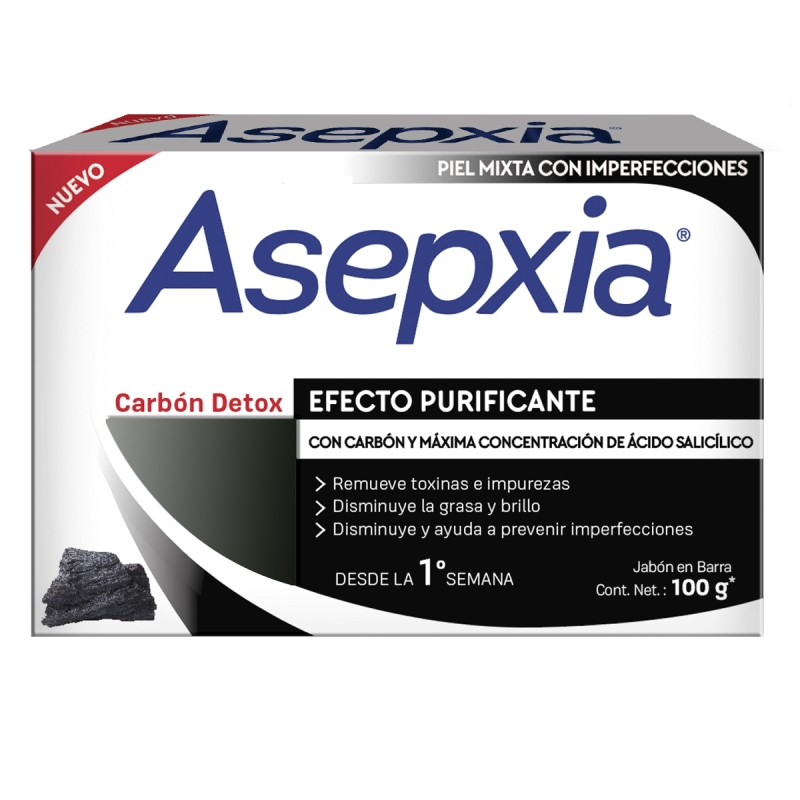 ASEPXIA CARBON DETOX X 100 gr
