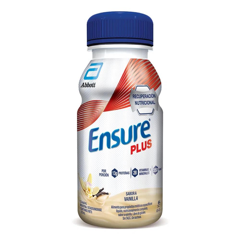 ENSURE PLUS DRINK VAINILLA X237ML