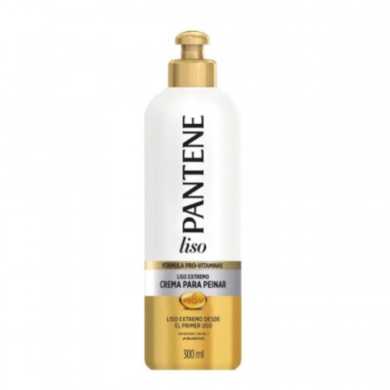 PANTENE CREMA PARA PEINAR LISO EXTREMO X 300 ml
