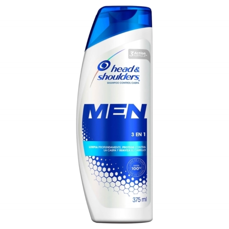 HEAD&SHOULDERS  3 EN 1 X 375 ml