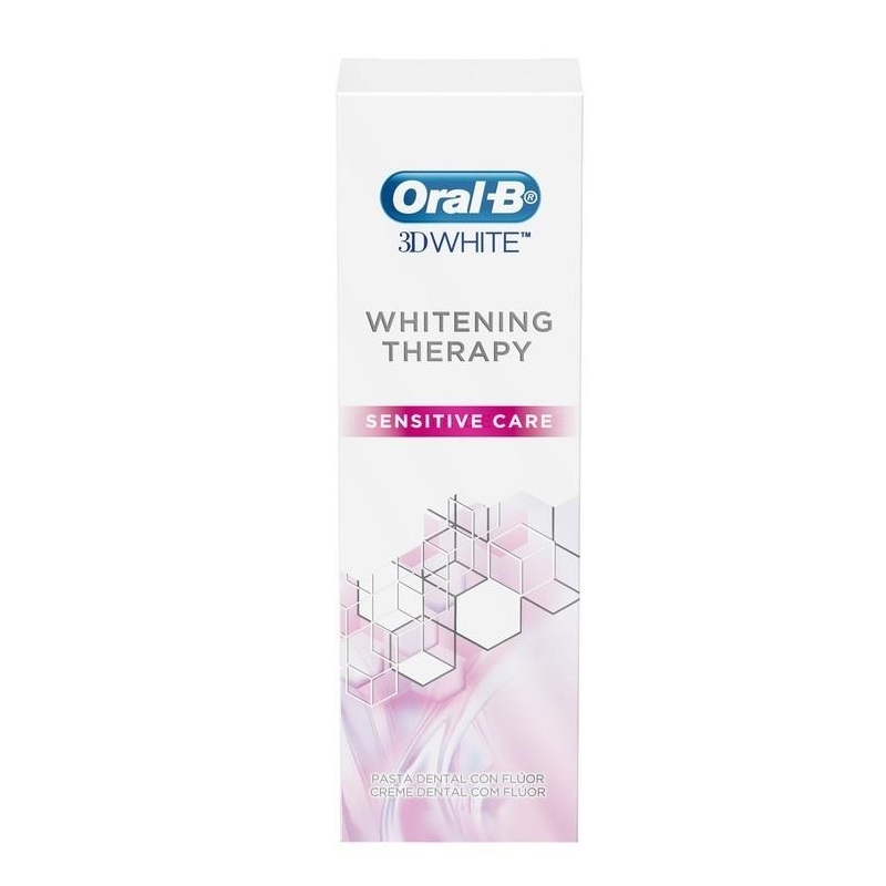 ORAL B CREMA 3D WHITE SENSITIVE CARE X 75