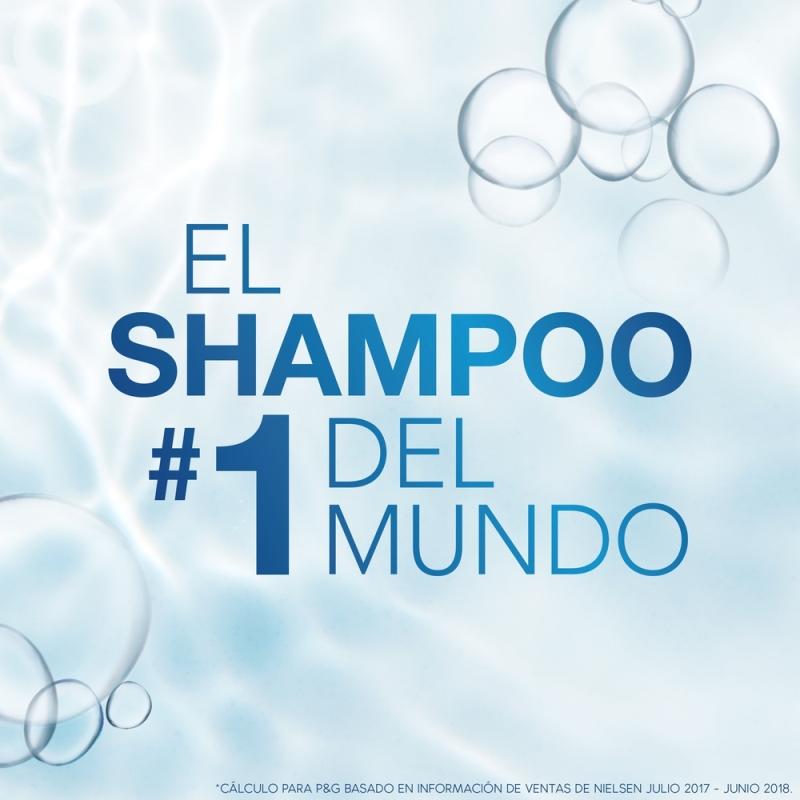 HEAD&SHOULDERS  SHAMPOO PURIFICACION CAPILAR X180