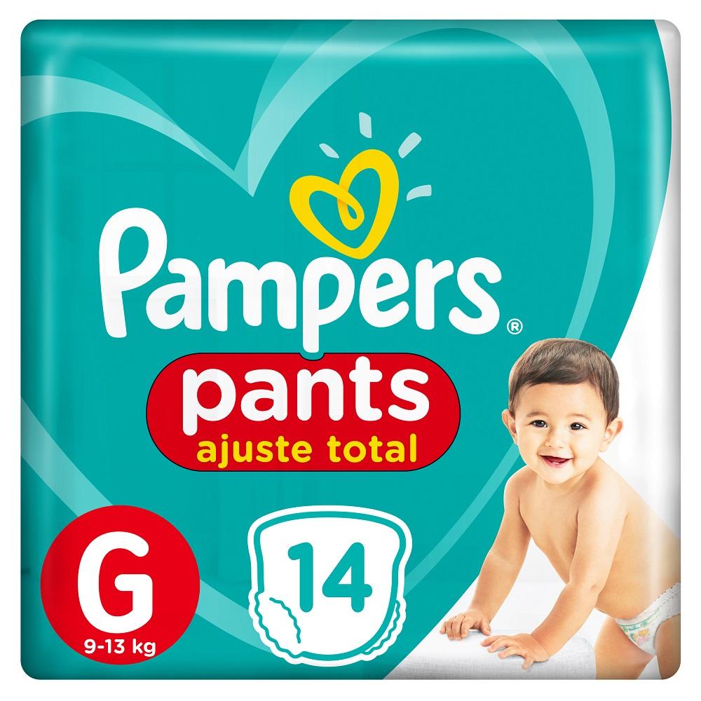 PAMPERS CONFORT SEC PANTS PAÑALES X14UN GRANDE