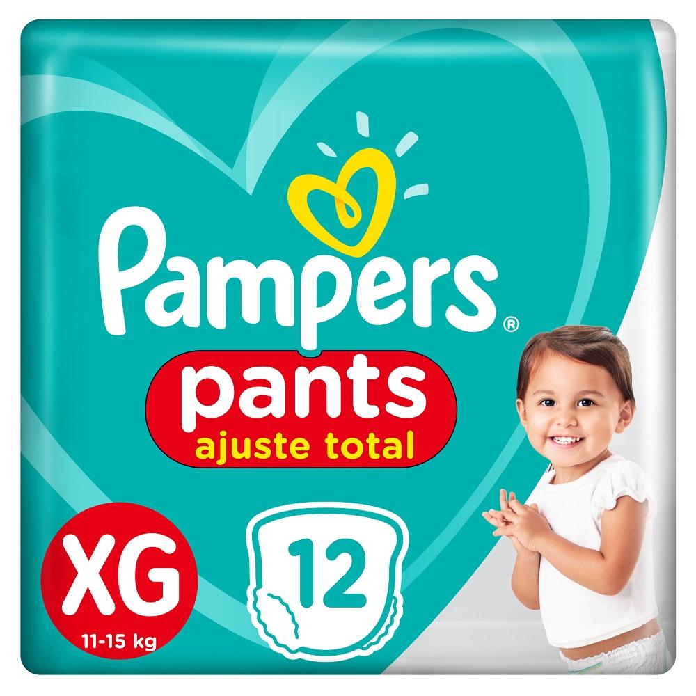 PAMPERS CONFORT SEC PANTS PAÑALES X12UN X-GRANDE