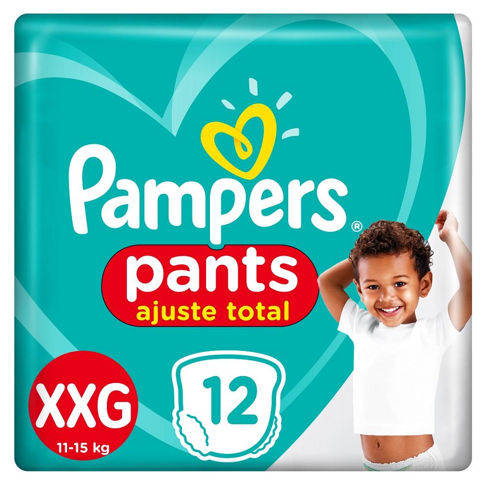 PAMPERS CONFORT SEC PANTS PAÑALES X12UN  XXGRANDE