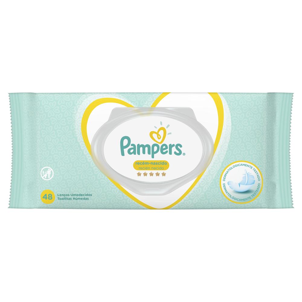 PAMPERS TOALLITAS HÚMEDAS RECIÉN NACIDO 48 U