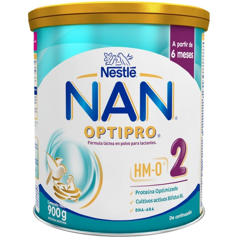 NESTLE NAN 2 OPTIPRO  X900gr