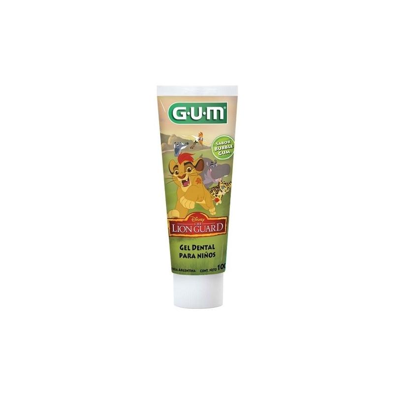 GUM CREMA DENTAL INFANTIL LION GUARD X100