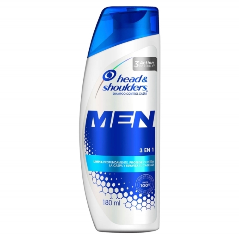 HEAD&SHOULDERS  3 EN 1 X 180 ml