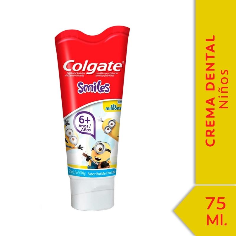 COLGATE CREMA SMILE MINIONS X75