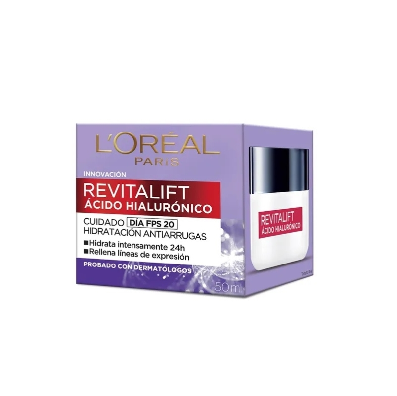 LOREAL REVITALIFT ACIDO HIALURONICO DIA X 50 ML