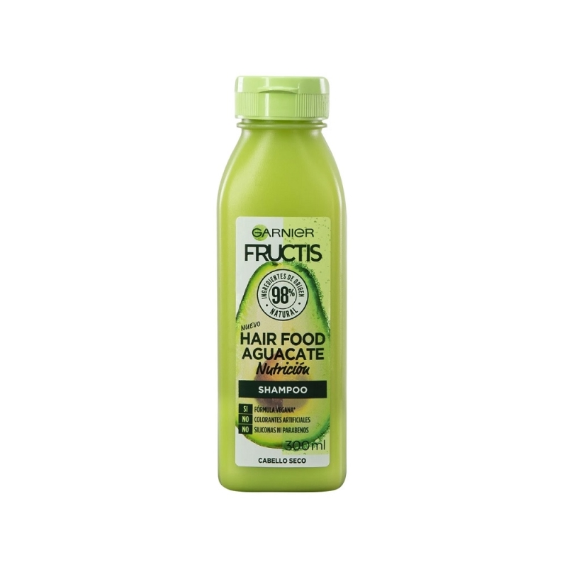 FRUCTIS SHAMPOO HAIR FOOD AGUACATE X 300 ML