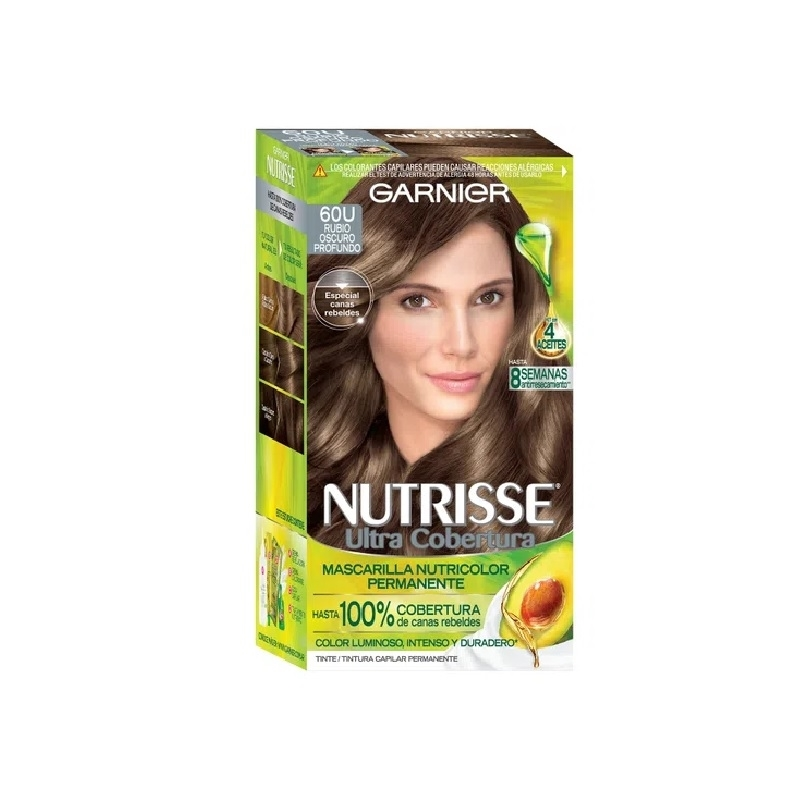 NUTRISSE ULTRA COBERTURA KIT 60 RUBIO OSCURO PROFUNDO