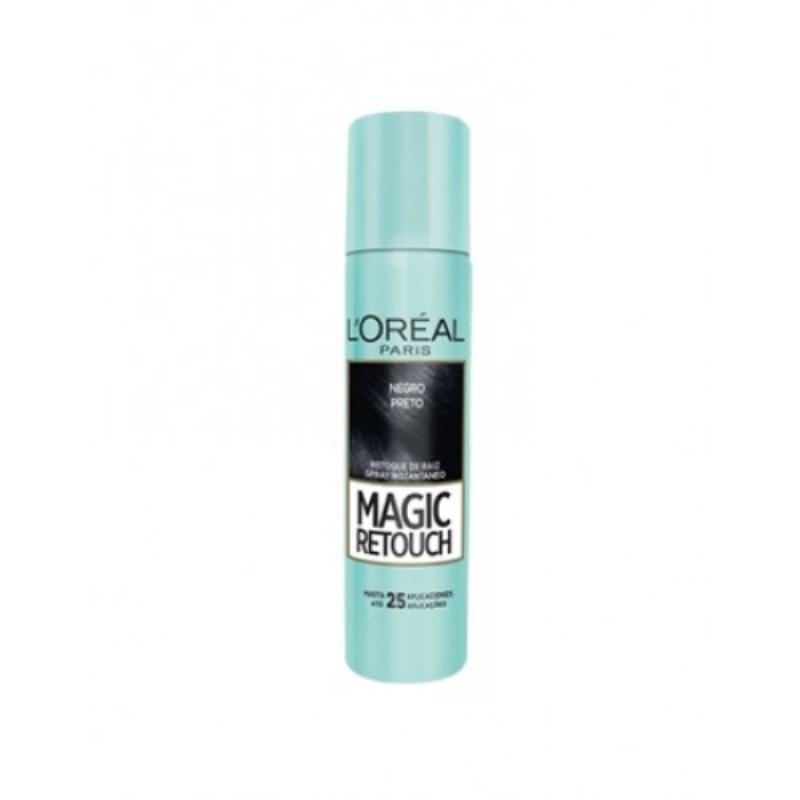 LOREAL MAGIC RETOUCH NEGRO PRETO X 75 ML