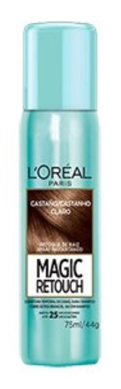 LOREAL MAGIC RETOUCH CASTAÑO CLARO X 75 ML