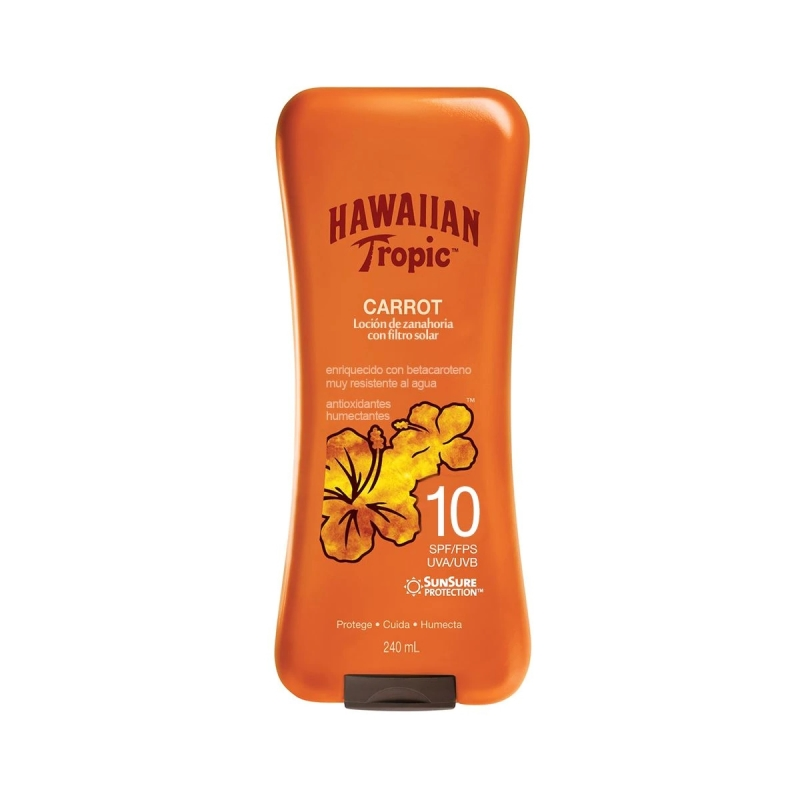 HAWAIIAN TROPIC CARROT FPS 10 X 240ML