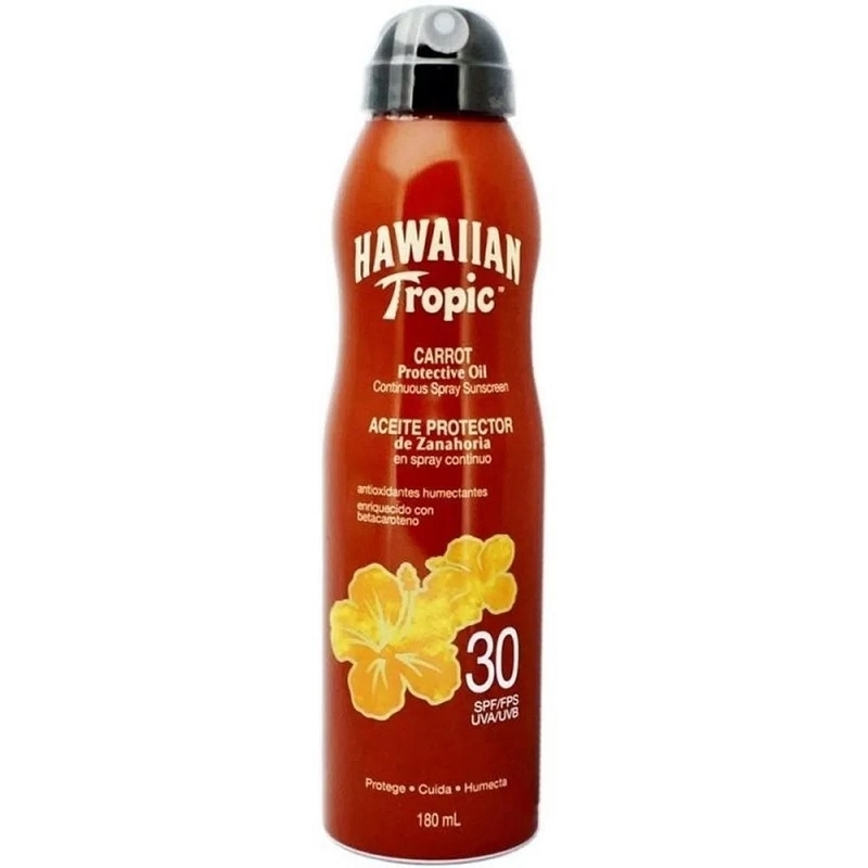 HAWAIIAN SPRAY CONTINUO DE ZANAHORIA FPS 30 X 180 ml