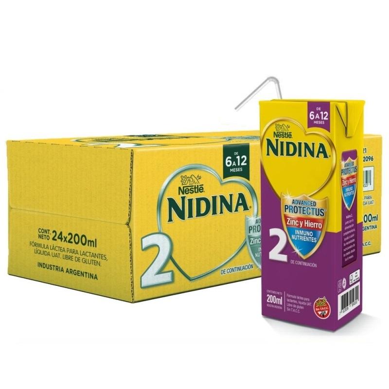 NESTLE NIDINA 2 LISTA PARA TOMAR 24 X200