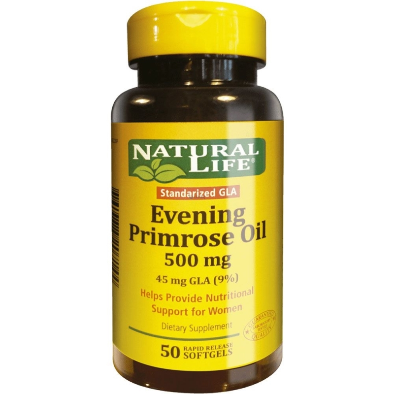 NATURAL LIFE EVENING PRIMEROSE OIL GEL X 50 UN