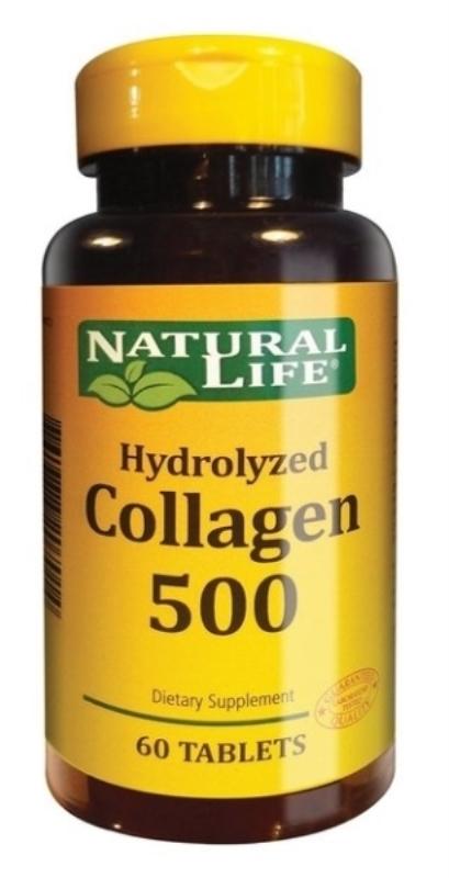NATURAL LIFE COLLAGEN 500MG X 60 un