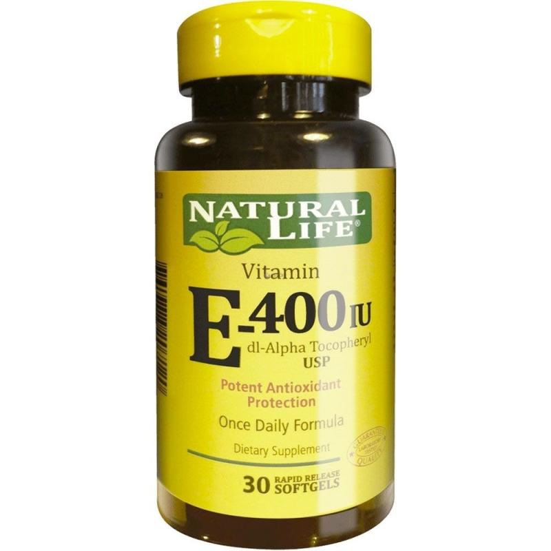 NATURAL LIFE VITAMINA E 400 X30