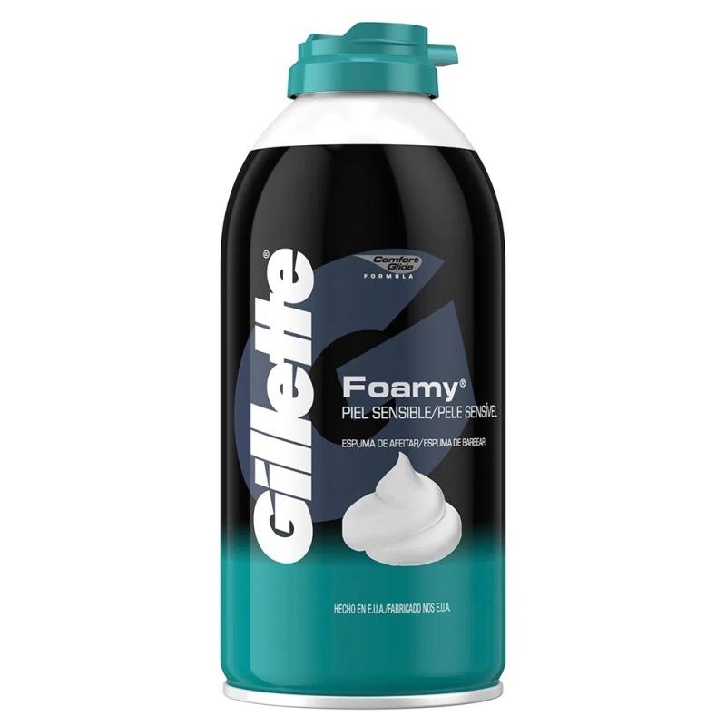 GILLETTE ESPUMA FOAMY PIEL SENSIBLE X175 gr