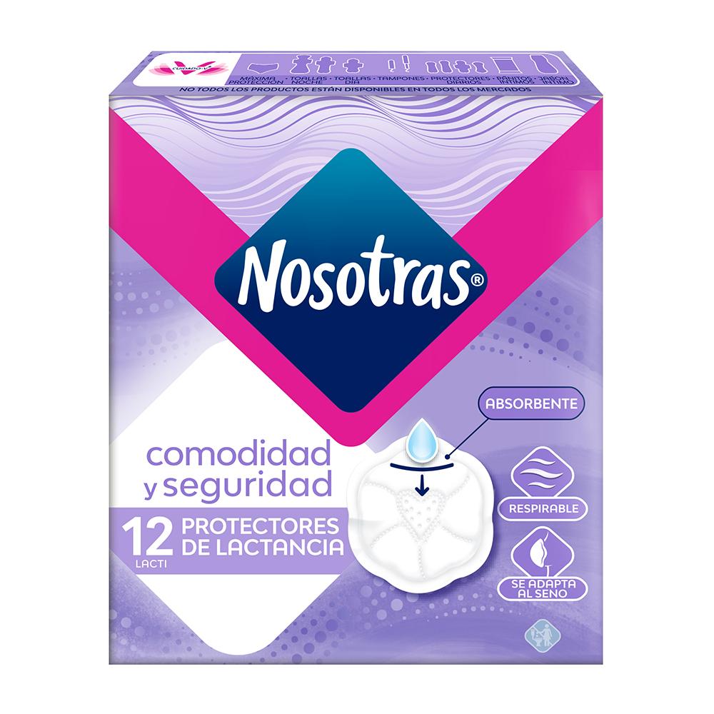 NOSOTRAS PROTECTOR MAMARIO X12