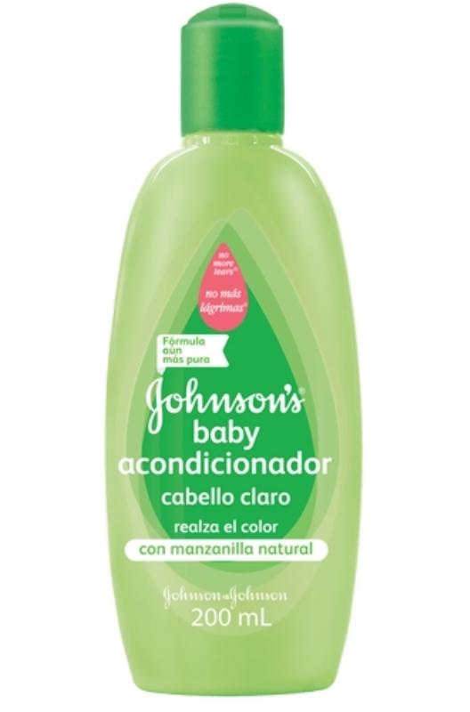 JOHNSON&JOHNSON ACONDICIONADOR MANZANILLA X 200 ml