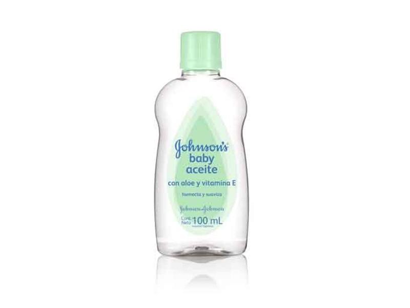 JOHNSON&JOHNSON ACEITE CON ALOE + VITAMINA E X 100 ml