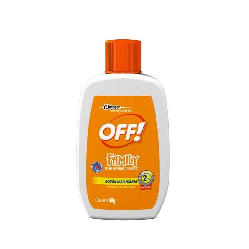 OFF CREMA REPELENTE DE INSECTOS FAMILY ACTIVE X 60 gr